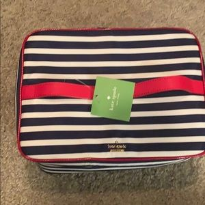 Kate Spade travel cosmetic bag
